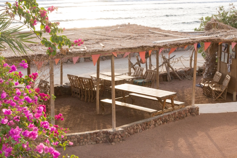 Sindbad Camp Dahab Egypt Sea Veiw