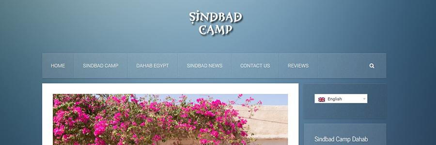 sindbad camp website